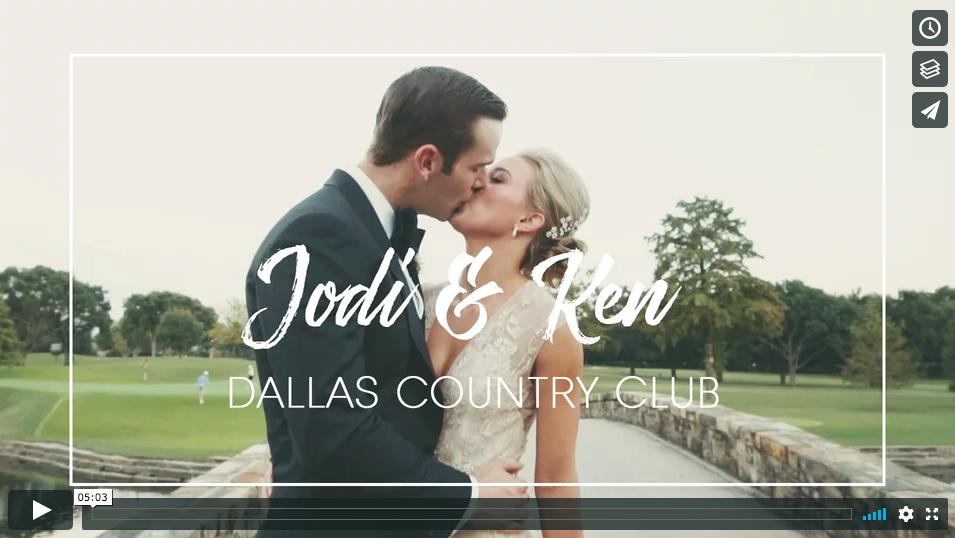 Dallas wedding film