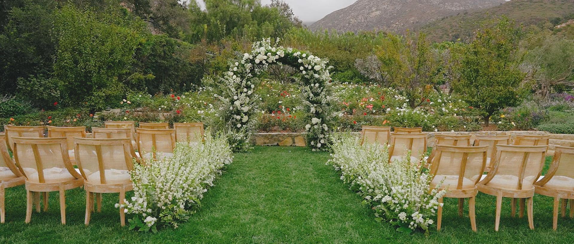 san ysidro wedding, ceremony site, santa barbara weddings, southern california wedding videographers, san ysidro wedding videographers, santa barabara wedding videographers